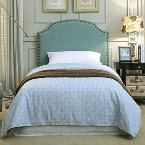 Twin Blue Headboard