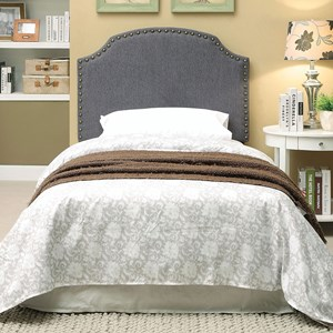 Twin Gray Headboard