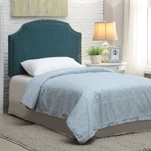 Twin Dark Teal Headboard