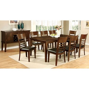 Dining Table and Chair Set for Eight