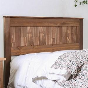 Twin Size Rustic Plank Headboard