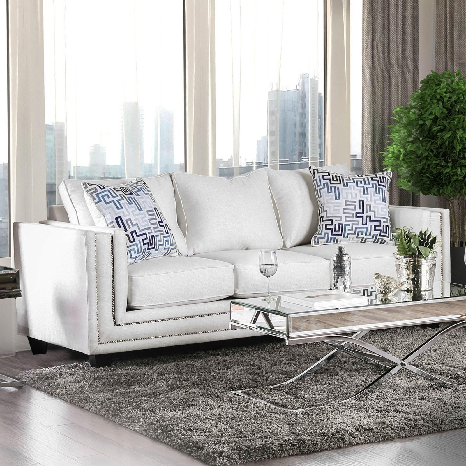 Ilse Sofa by Furniture of America at Nassau Furniture and Mattress