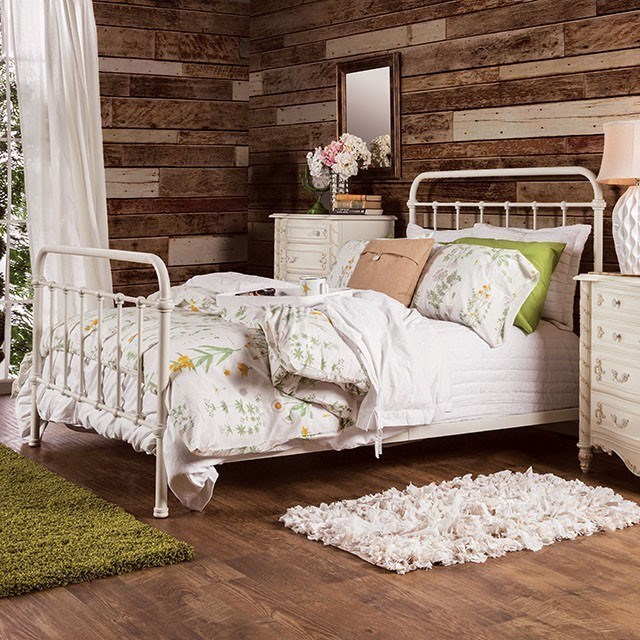 Iria California King Bed by Furniture of America at Nassau Furniture and Mattress