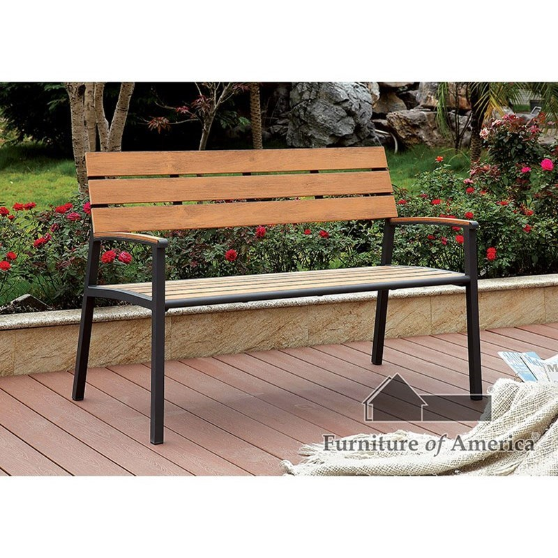 Isha Outdoor Bench at Household Furniture