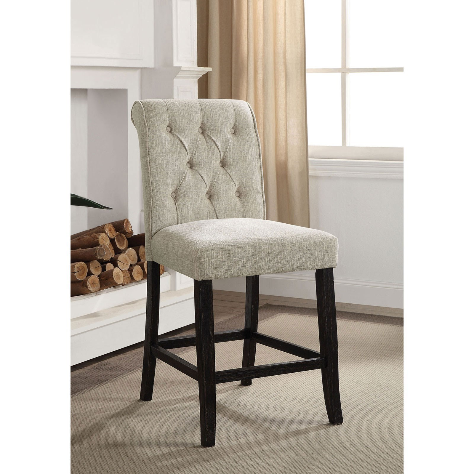 Izzy Counter Height Side Chair 2-Pack at Household Furniture