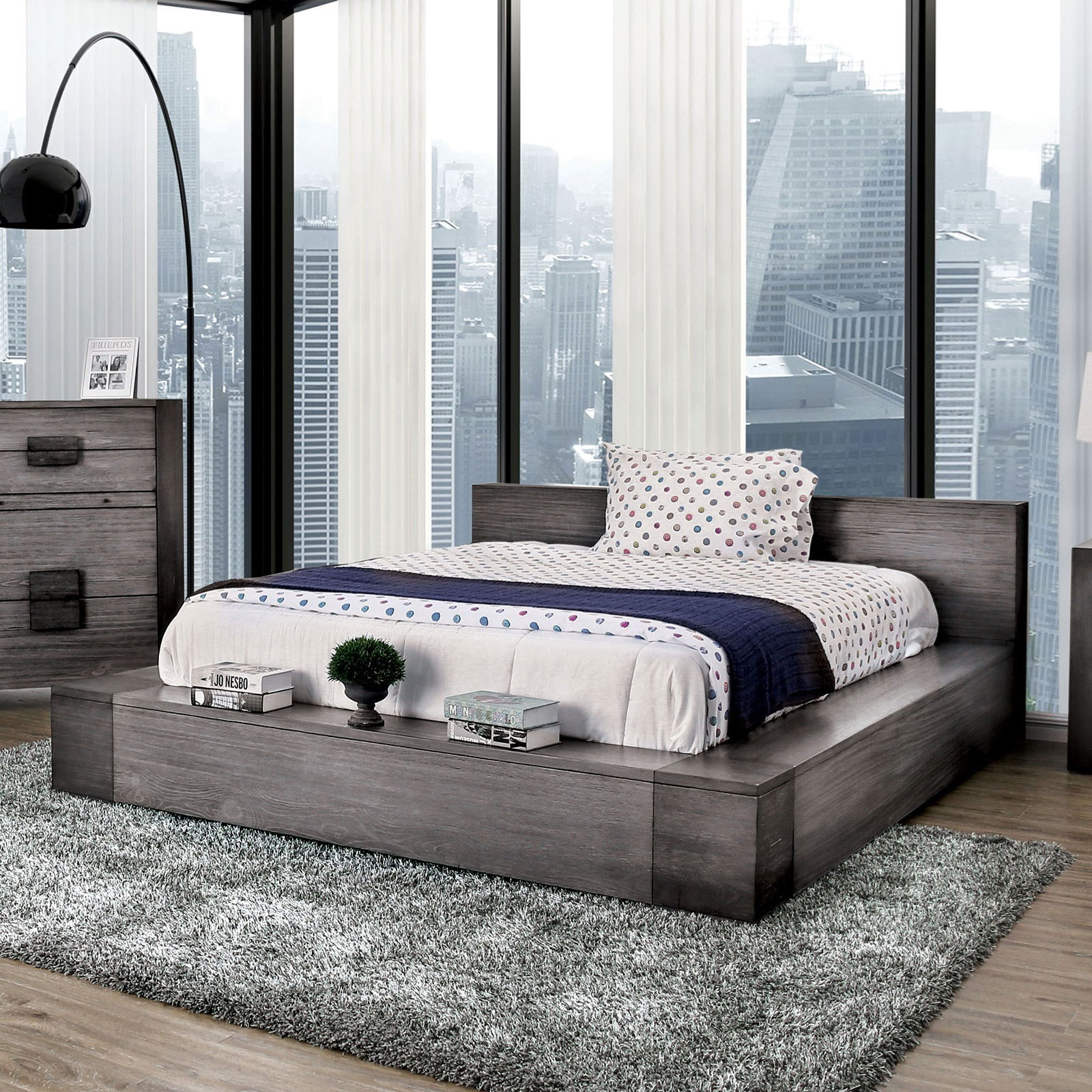 Janeiro California King Bed at Household Furniture