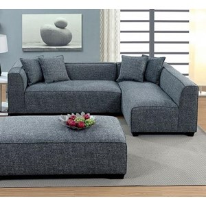 Contemporary L-Shaped Sectional