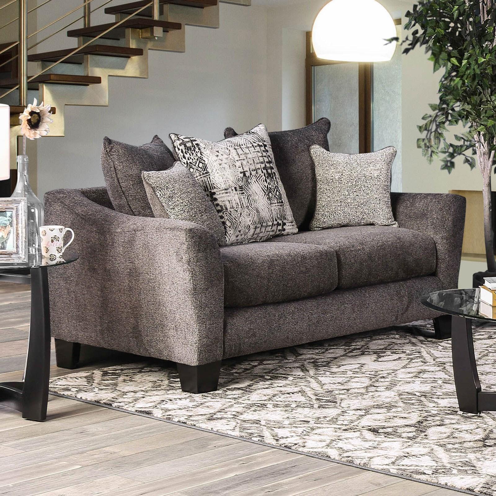 Jena Love Seat by Furniture of America at Nassau Furniture and Mattress