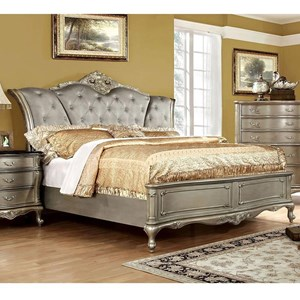 Traditional California King Bed