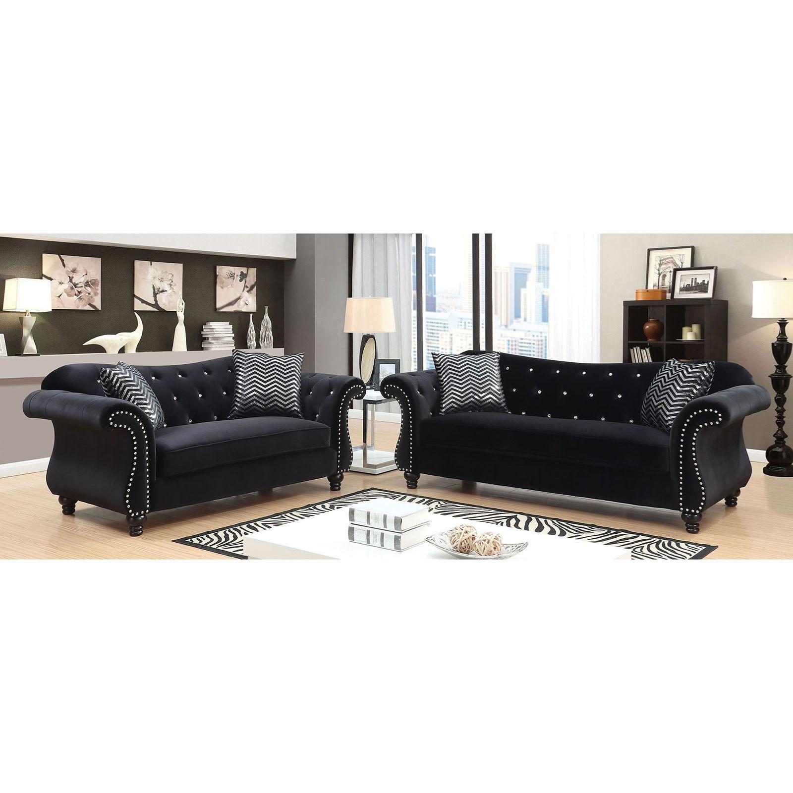 Jolanda Stationary Living Room Group at Household Furniture