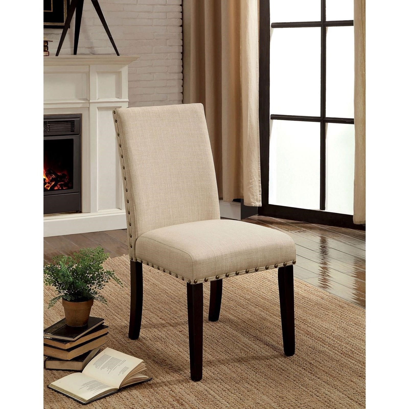 Kaitlin Set of 2 Side Chairs at Household Furniture