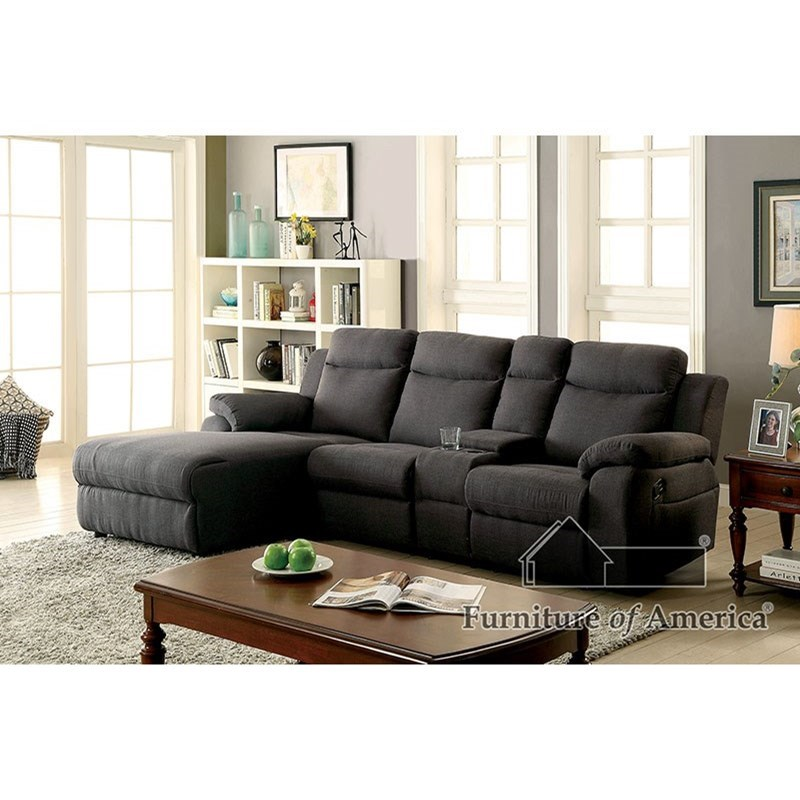 Kamryn Sectional w/ Console at Household Furniture