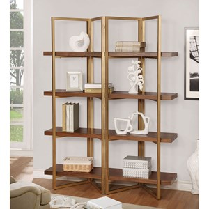 Contemporary 4-Tier Shelf