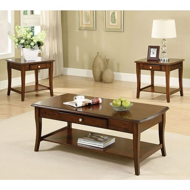 Lincoln Park 3 Piece Table Set at Household Furniture