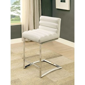 Pack of 2 Contemporary Counter Height Chairs