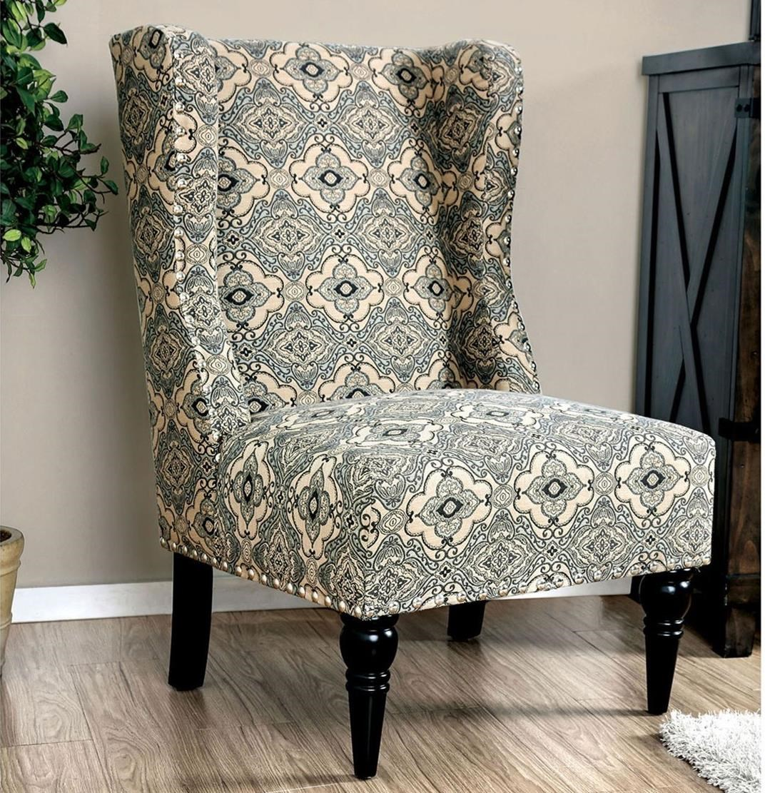 Elche Accent Chair by Furniture of America at Nassau Furniture and Mattress