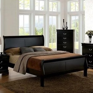 Traditional Queen Sleigh Bed
