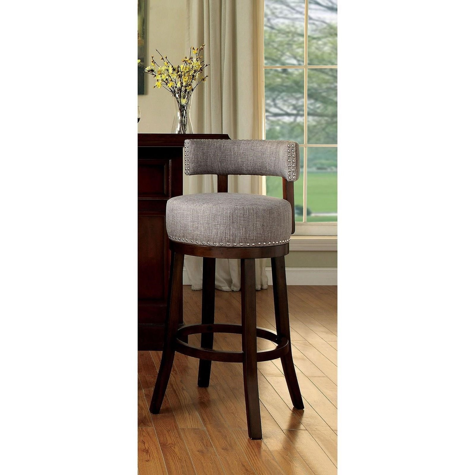 """Lynsey 29"""" Bar Stool by Furniture of America - FOA at Del Sol Furniture"""