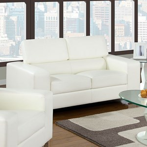 Love Seat with Pneumatic Headrests