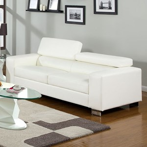 Sofa with Pneumatic Headrests