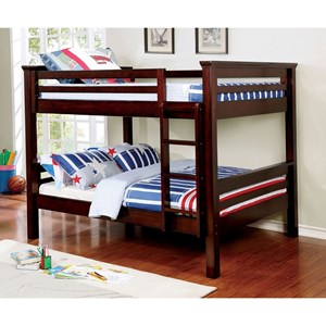 Full Over Full Youth Bunk Bed