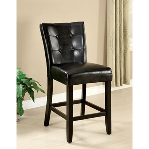 2 Pack of Contemporary Counter Height Chairs