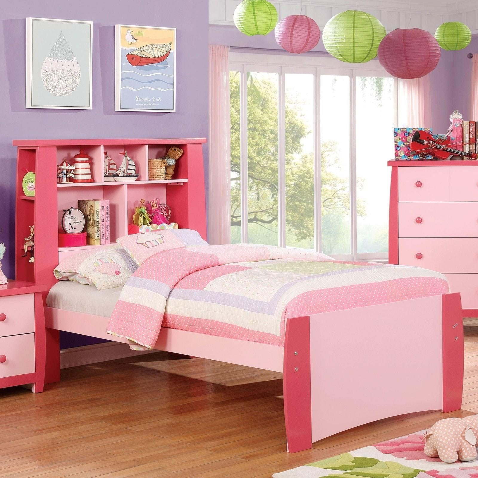 Marlee Twin Bed by Furniture of America at Corner Furniture