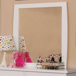 Contemporary Youth Bedroom Dresser Mirror