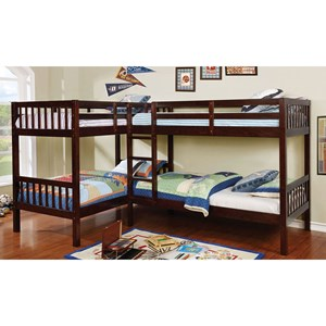Quadruple Twin Bunk Bed