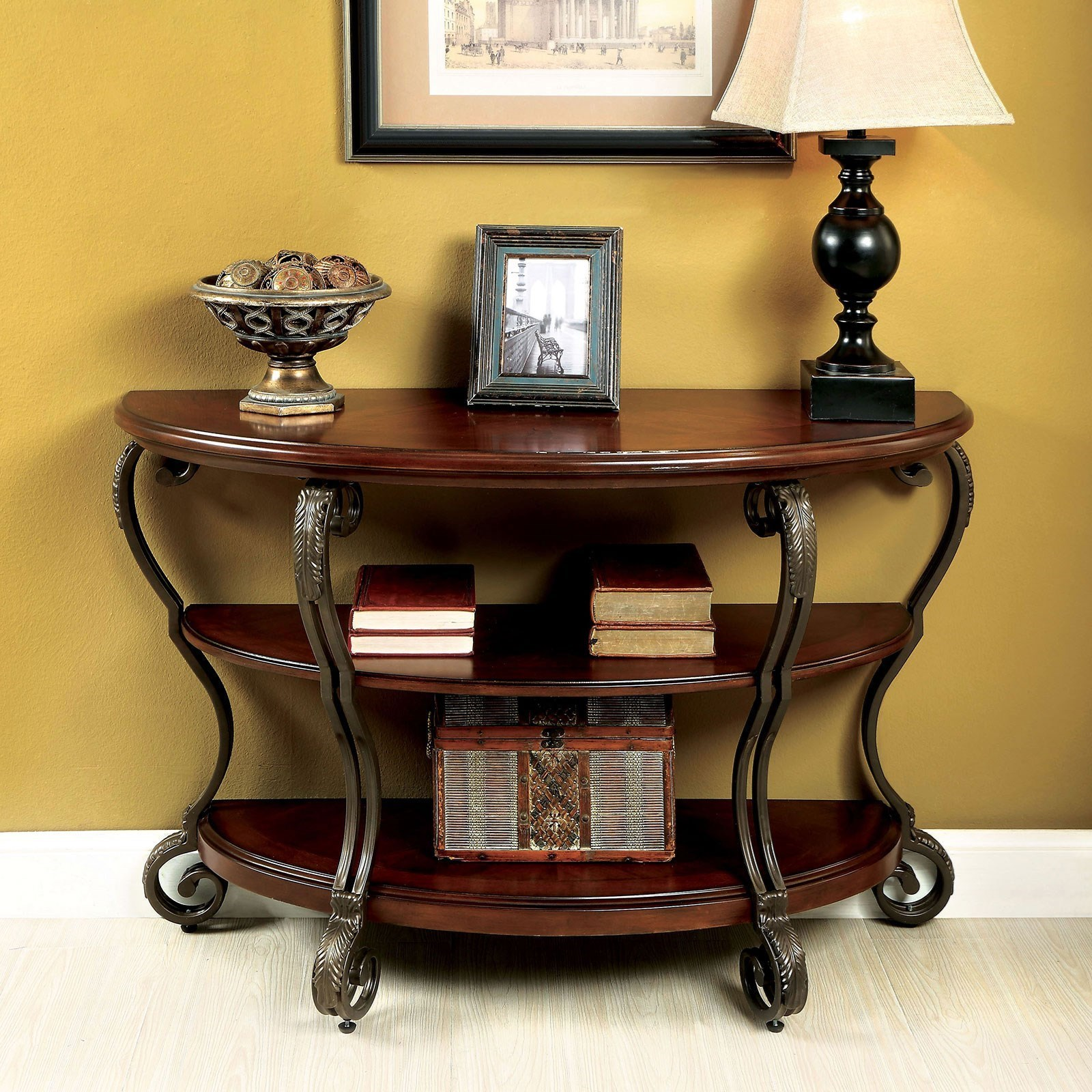 May Sofa Table by Furniture of America - FOA at Del Sol Furniture