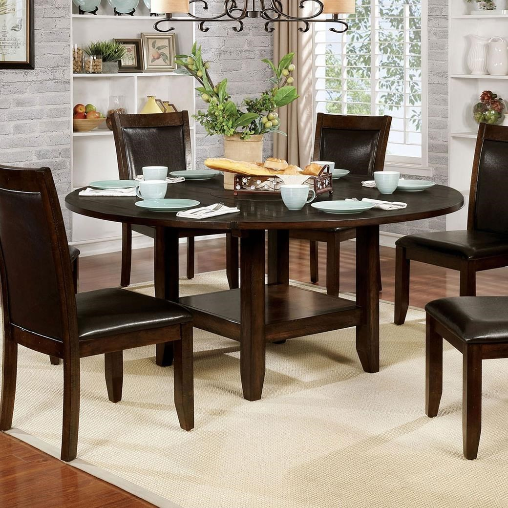 Meagan I Round Table at Household Furniture