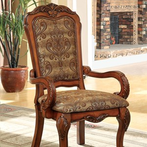 Traditional Set of Two Arm Chairs