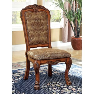 Traditional Set of Two Dining Chairs