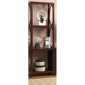 Transitional Pier Cabinet with 3 Shelves