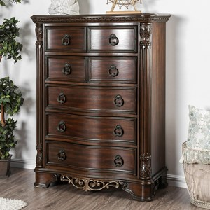 Traditional 7 Drawer Chest