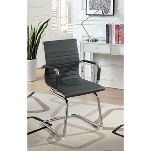 Contemporary Office Chair with Metal Cantilever Base