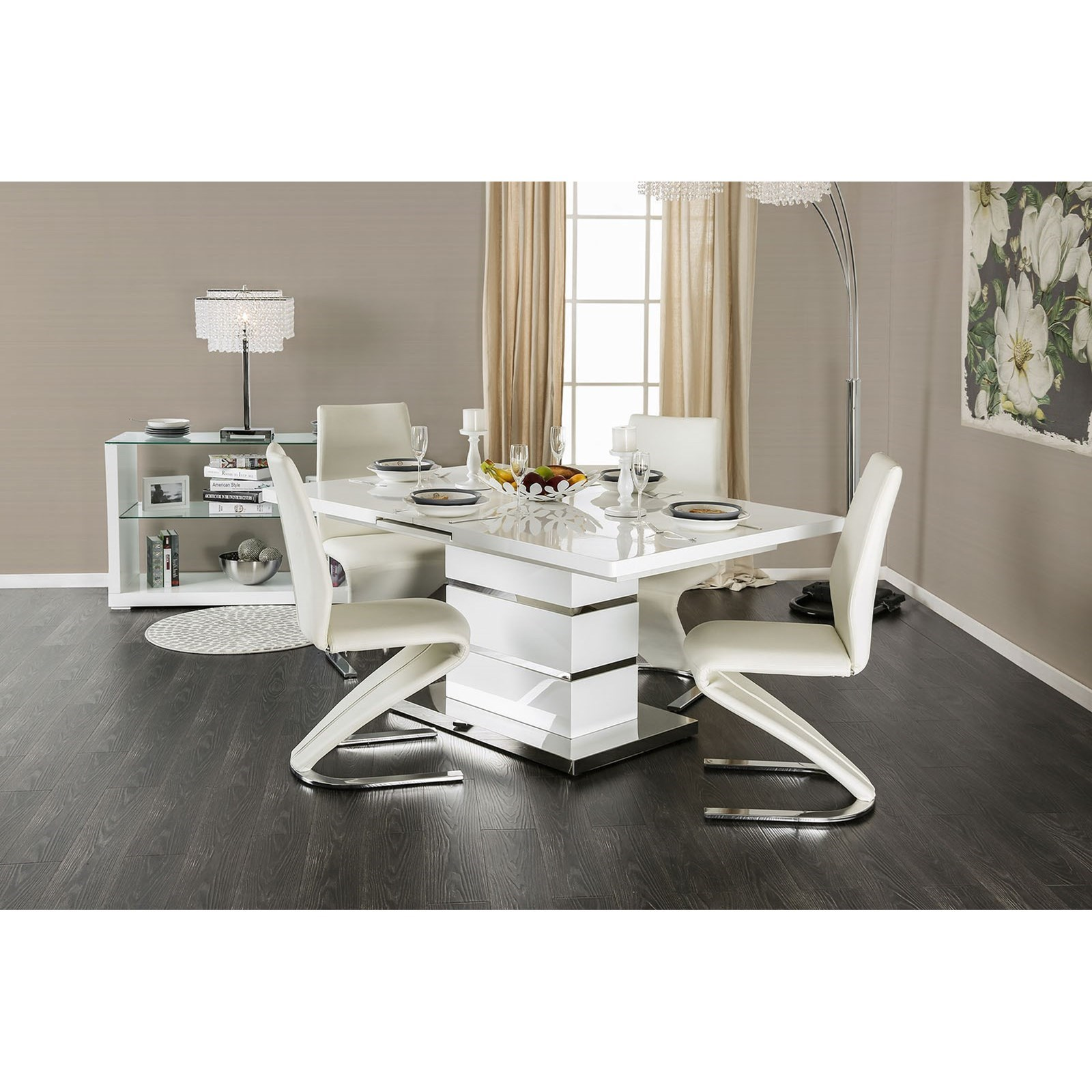 Midvale Table + 6 Side Chairs at Household Furniture