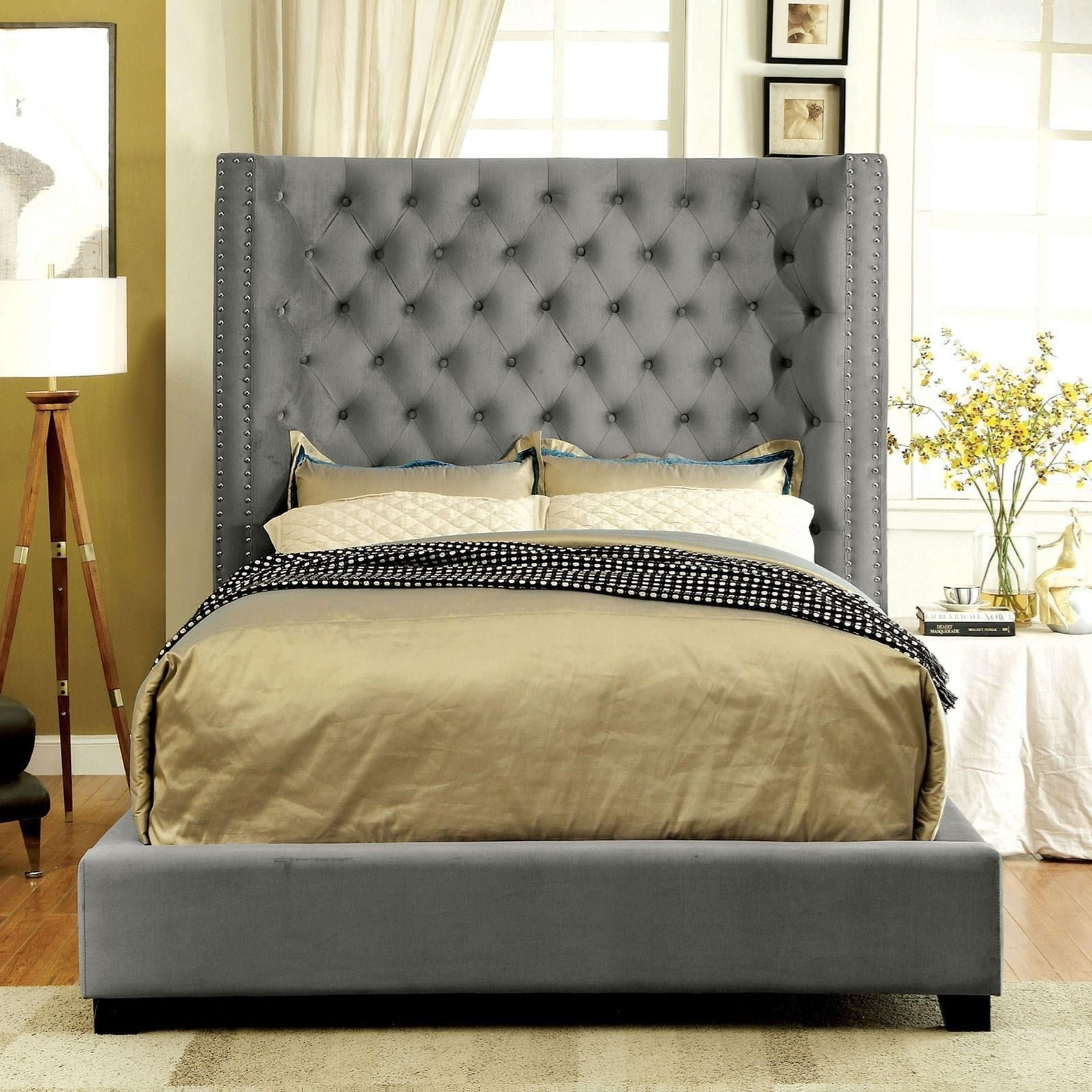 Mirabelle Queen Bed by Furniture of America - FOA at Del Sol Furniture