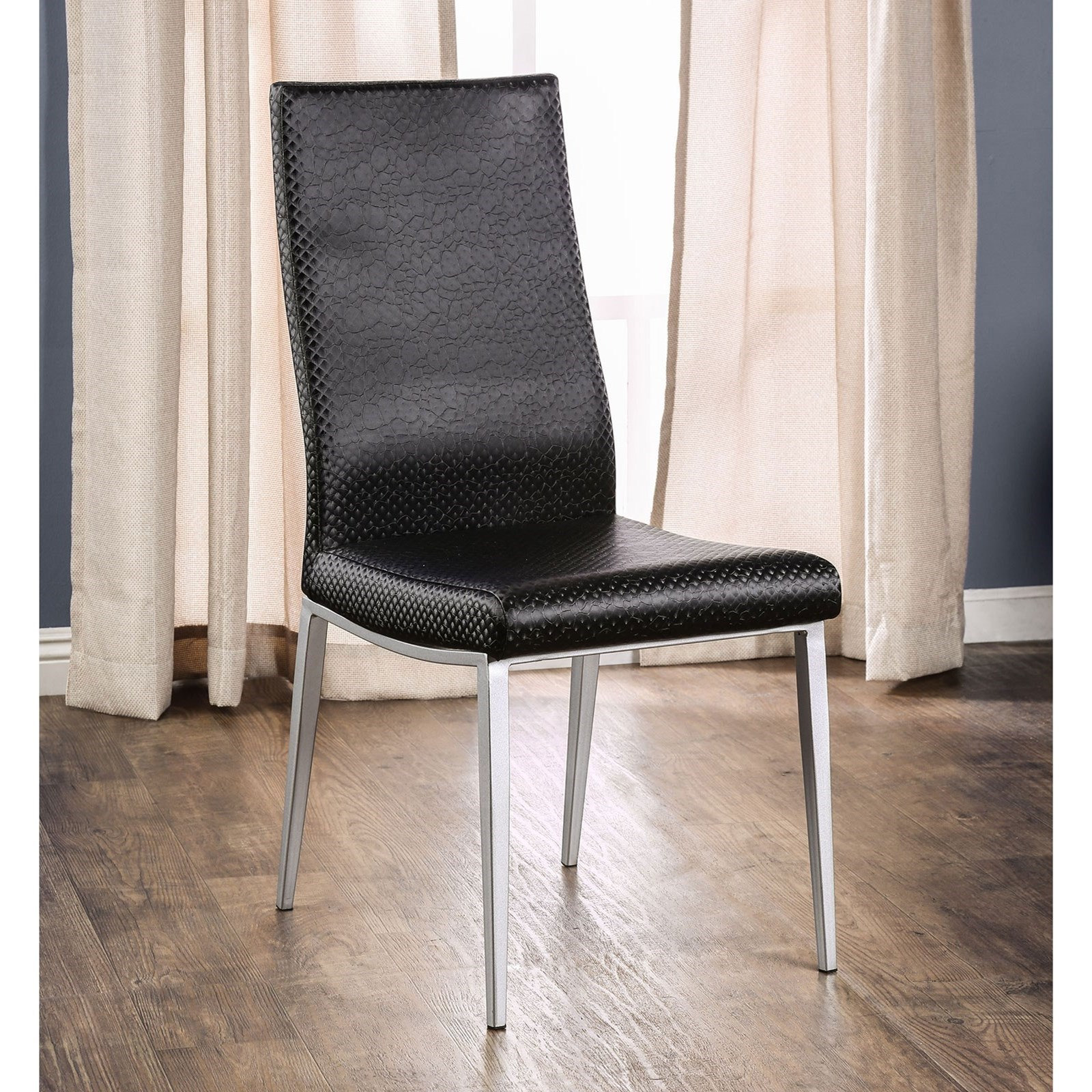 Miriam Side Chair by Furniture of America - FOA at Del Sol Furniture