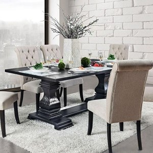 Vintage Style Rectangular Dining Table