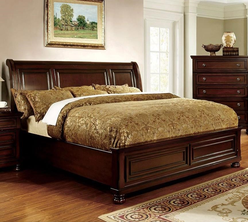 Northville King Sleigh Bed at Household Furniture