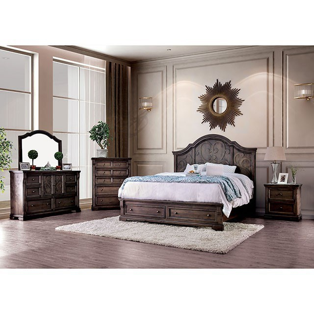 Oberon Queen Bedroom Group by Furniture of America at Nassau Furniture and Mattress