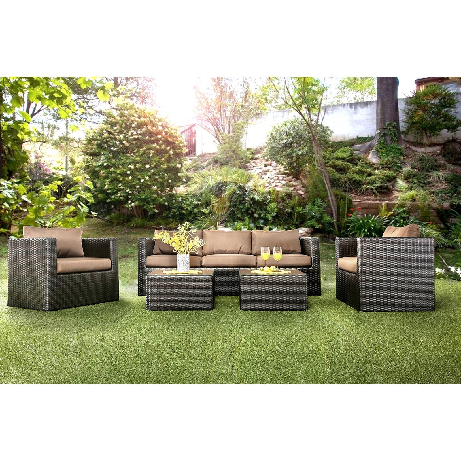 Olina 5 Pc. Patio Set at Household Furniture