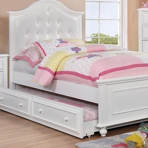 Full Bed with Twin Size Trundle
