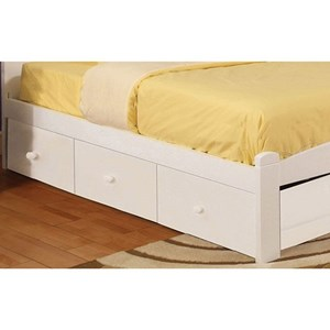 Transitional Underbed Storage Drawers