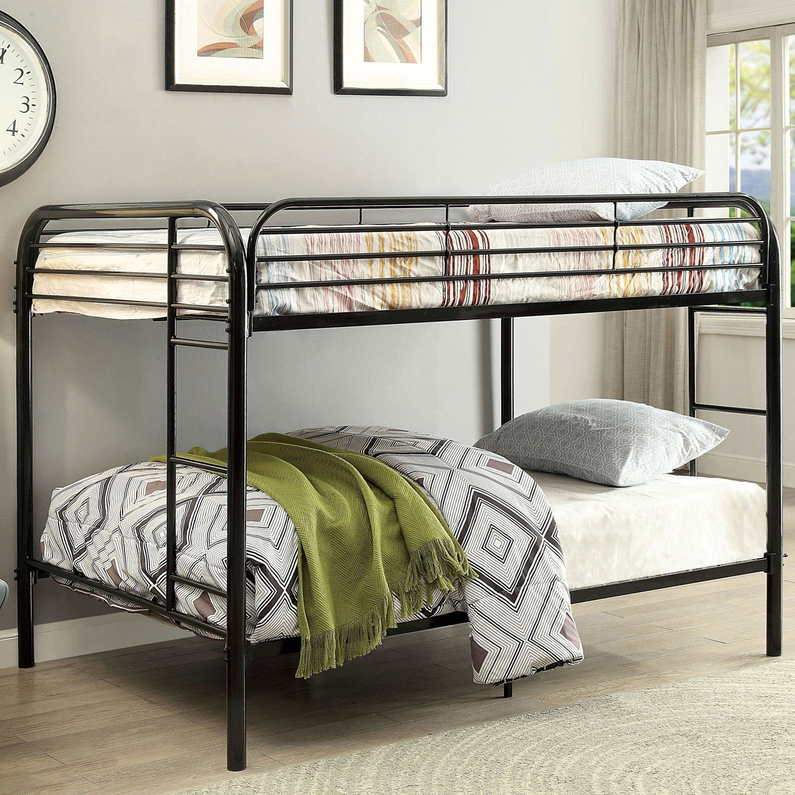Opal Full-over-Full Bunk Bed at Household Furniture