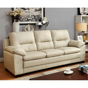 Casual Pillow Arm Sofa