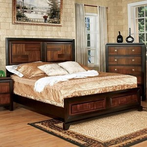 Transitional Full Bed