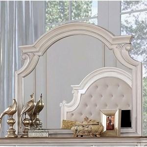 Traditional Arch Dresser Mirror