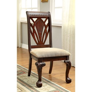 Set of Two Side Chairs